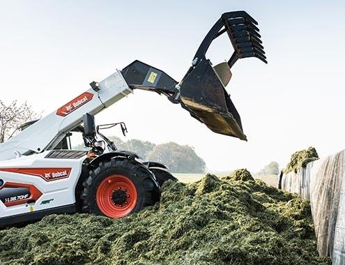 Bobcat lanza la nueva generación de cargadoras telescópicas para agricultura