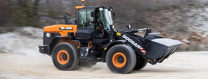 Doosan lanza las nuevas cargadoras de ruedas DL220-7 y DL250-7