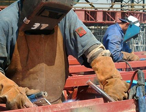 Empresas de construcción inscritas en el último mes asciende un 13,8 %