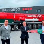 Grúas Ibarrondo adquiere la primera grúa LTM 1650-8.1 en España