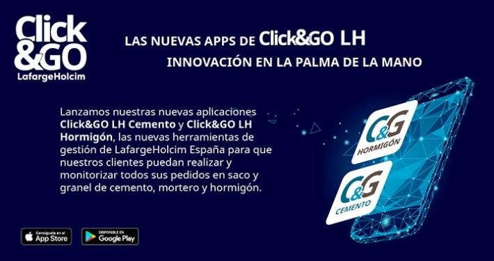 LafargeHolcim refuerza su oferta digital a clientes con las nuevas soluciones Click&GO LH