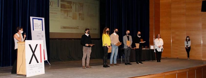 Acto de difusión arquitectos premiados de Castilla y León