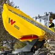Dumpers sobre ruedas optimizados DW60 y DW90 de WackerNeuson
