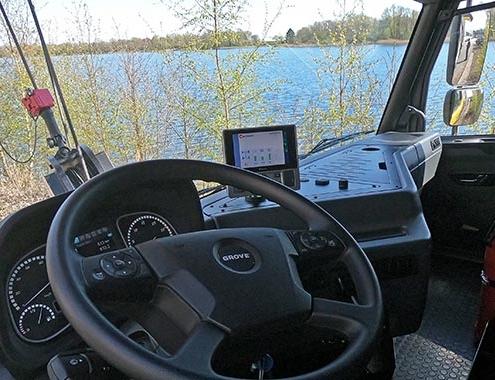 Nueva cabina de vehículo para las grúas Grove todo terreno
