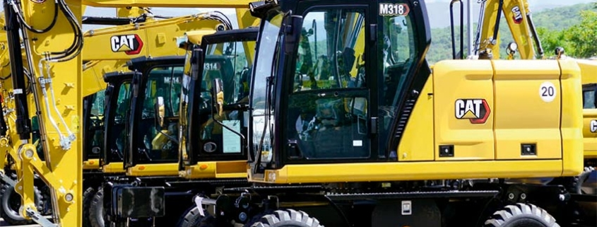 Nuevas Excavadoras de ruedas de última generación CAT® M314 y M318
