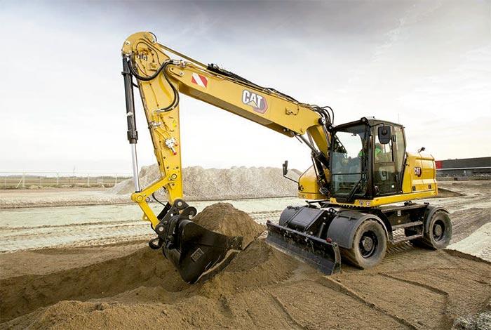 Nuevas Excavadoras de ruedas de última generación CAT® M314 y M318 -2