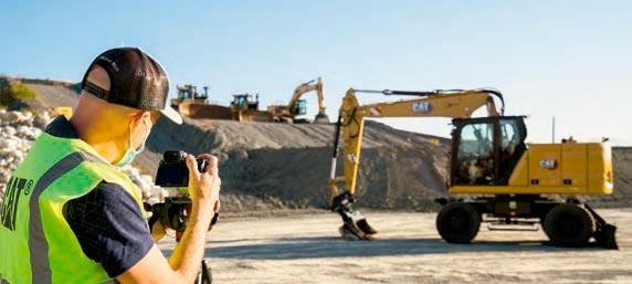 Nuevas Excavadoras de ruedas de última generación CAT® M314 y M318 - 3