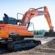 Doosan desvela la nueva excavadora de orugas DX225LC-7