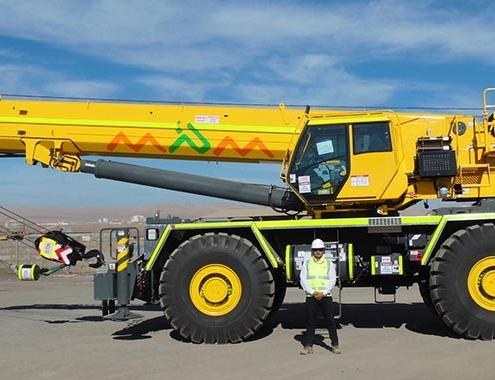 Tres nuevas Grove RT9130E-2 para el pujante sector minero chileno