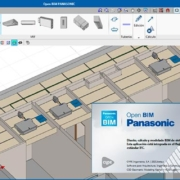 Panasonic lanza el programa Open BIM para el diseño, cálculo y modelado de sistemas VRF y aerotermia