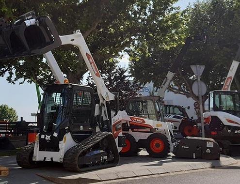 Bobcat presenta en España su nueva excavadora y cargadora de cadenas