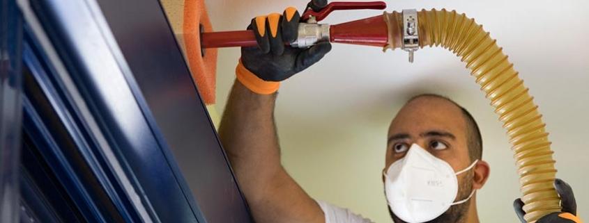 URSA PUREONE Pure Floc KD, la apuesta de URSA para grandes proyectos de rehabilitación de edificios