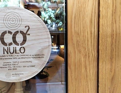 Primer sello de certificación CO2Nulo para los edificios CERO emisiones de CO2