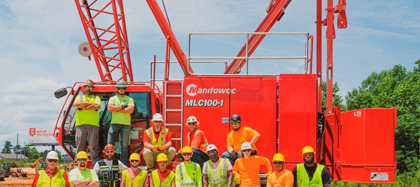 HEC elige las grúas Manitowoc para capacitar a la nueva generación de operadores de grúas