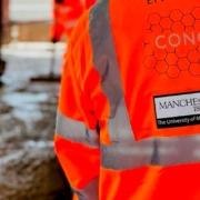 Primer elemento funcional de hormigón mejorado con grafeno en Inglaterra