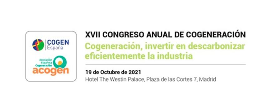 XVII Congreso Anual de Cogeneración