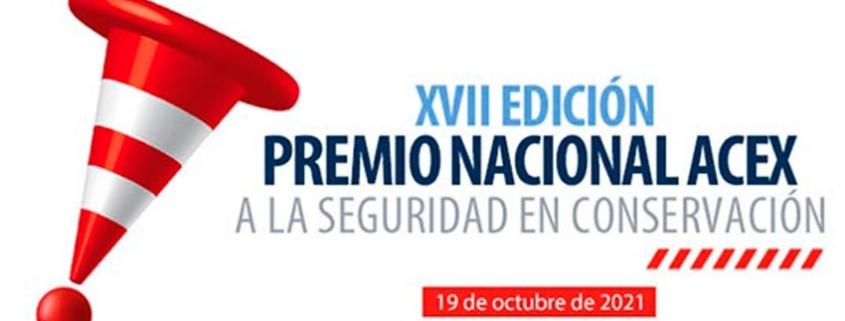 Abierto plazo de candidaturas al Premio Nacional ACEX a la seguridad en conservación infraestructuras