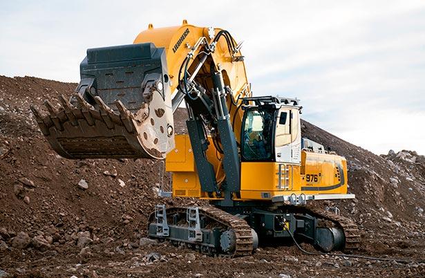 Excavadoras eléctricas sobre cadenas R 976-E y R 980 SME-E