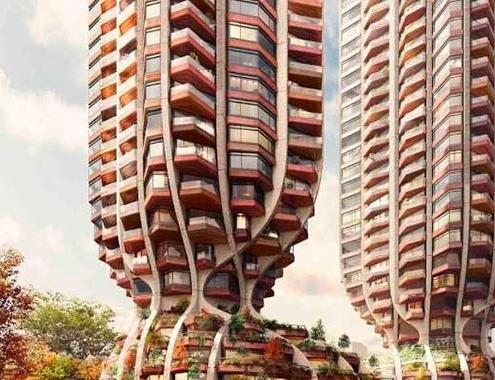 Revelan complejo diseño de proyecto habitacional en Vancouver