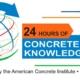"""ICH en la conferencia internacional """"24 Horas de conocimiento sobre Hormigón"""""""