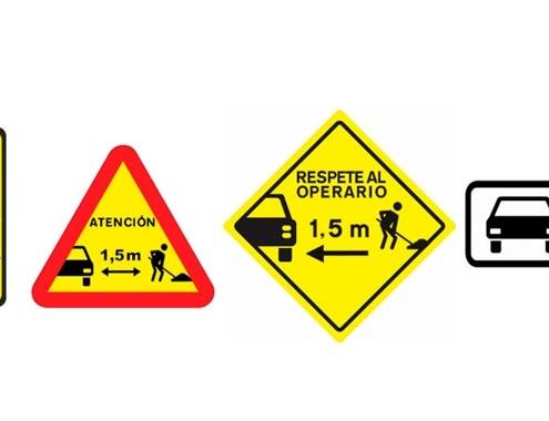ACEX insta a DGT crear señal específica advierta presencia operarios trabajando