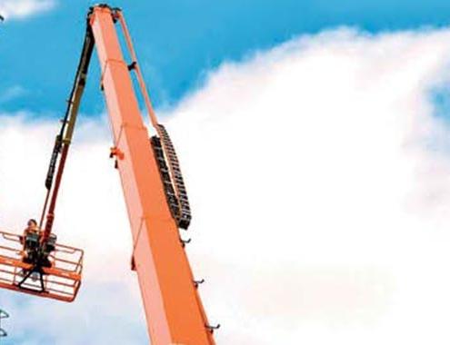 Plataformas elevadoras recomendadas para parada técnica de una fábrica