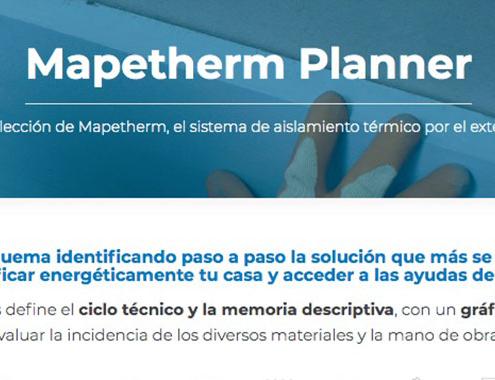 Mapetherm Planner, nueva guía de aislamiento térmico por el exterior