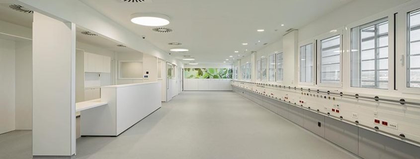 La pintura antibacteriana TITANPRO P-70, en el nuevo edificio satélite del Hospital Arnau de Vilanova
