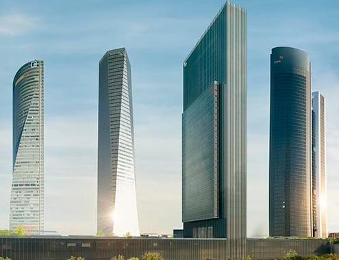CALEIDO finaliza las obras y completa el distrito de las Cuatro Torres