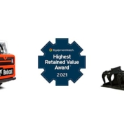 Bobcat gana el premio Highest Retained Value Awards
