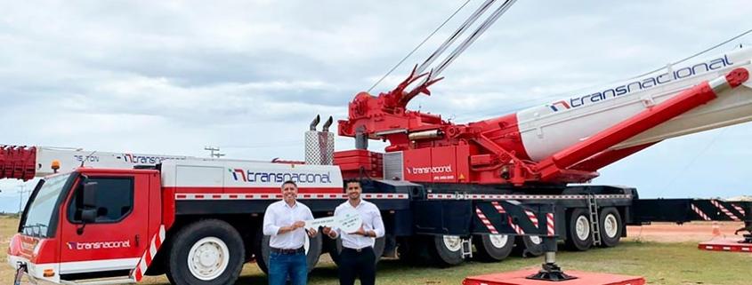 Transnacional incorpora una grúa Liebherr LTM 1500-8.1