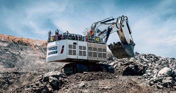 Liebherr presenta la R 9600: La nueva generación de excavadoras hidráulicas para minería