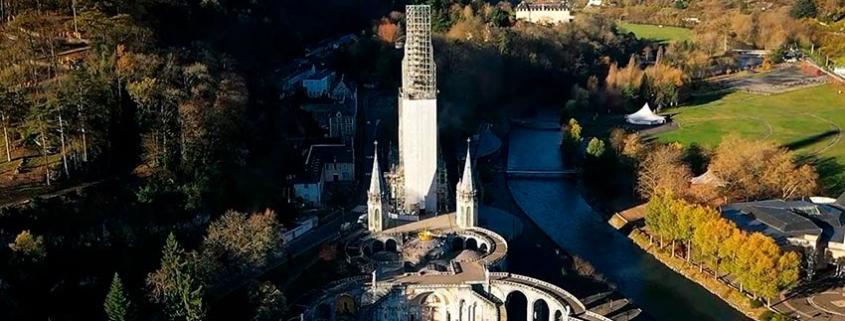 Proyecto restauración del Santuario de Lourdes, Francia