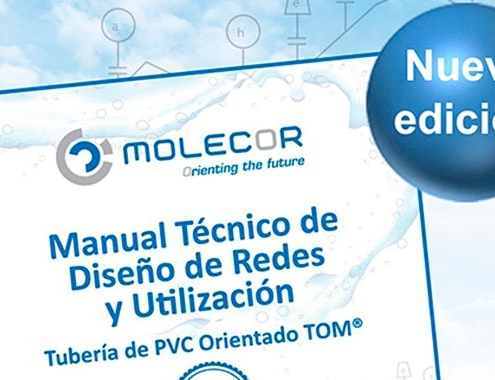 Nueva edición del Manual Técnico de Tubería de PVC Orientado TOM®