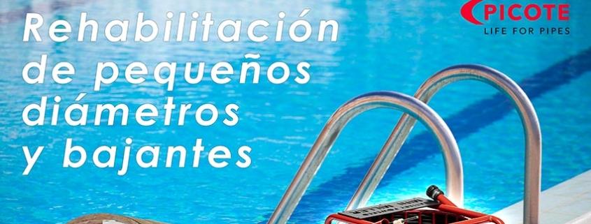 Rehabilitación de piscinas con sistemas Picote de Tecsan