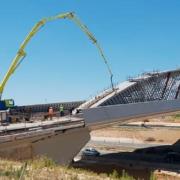 22.000 m3 de hormigón para el Puente de la Concordia de Madrid
