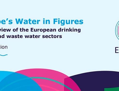 """Estudio del sector del agua """"Europe's water in figures 2021"""""""