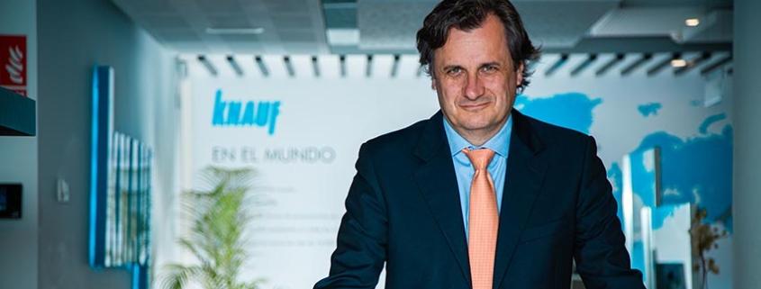Entrevista a Alberto de Luca, CEO de KNAUF IBERIA