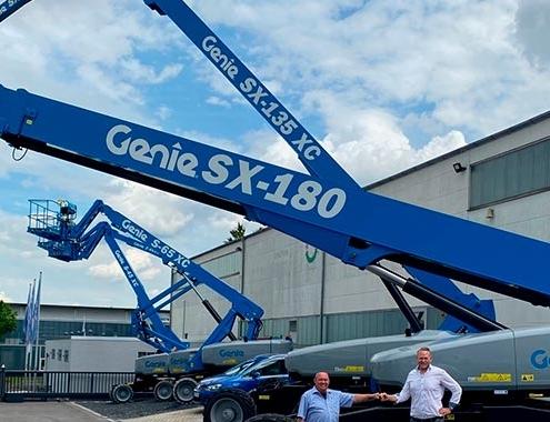 BSI expande y añade las plataformas de gran alcance Genie® SX™-180, SX-135 Xtra Capacity™ (XC™) y SX-125 XC