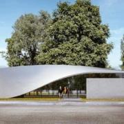 """""""CUBE"""", el primer edificio de """"hormigón textil"""" del mundo"""