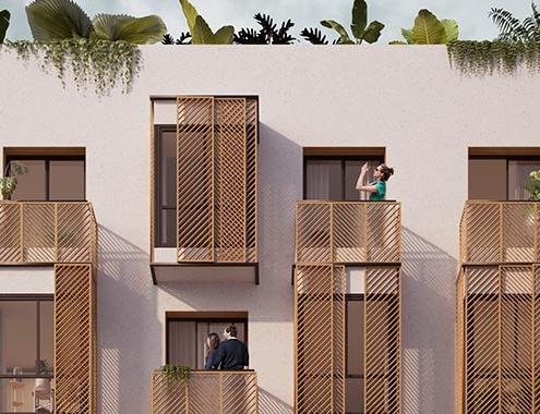 Sostenibilidad y diseño, así son las fachadas de las casas Designable