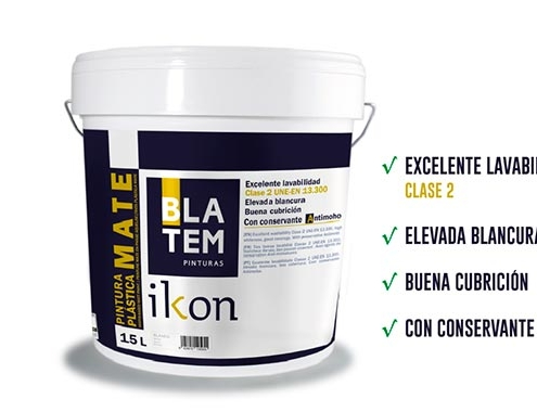 Ikon, de Pinturas Blatem, obtiene el Certificado Euroclases de pintura ignífuga
