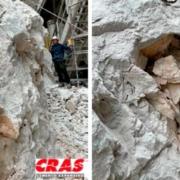 Alucinados con el cemento expansivo CRAS de Kayati