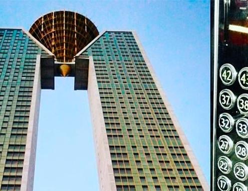 KONE equipa la emblemática torre Intempo de Benidorm
