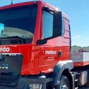 mateco potencia su servicio logístico ampliando su flota de camiones propios