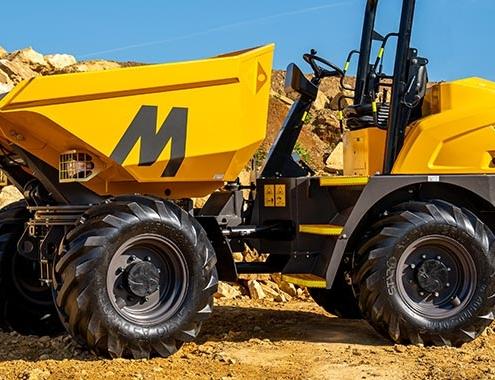 Nuevos dumpers de obra Mecalac MDX
