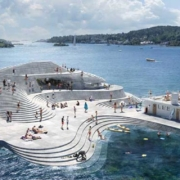 Nuevo puerto de Knubben: Recuperar patrimonio con nuevos diseños