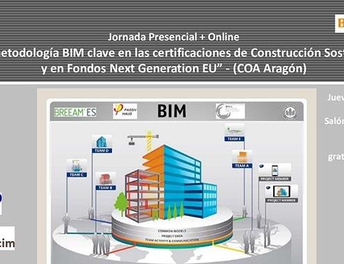 BIM clave en las certificaciones de Construcción Sostenible y en Fondos Next Generation EU
