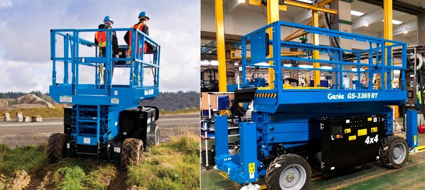 Genie amplía su producción en Europa con plataformas GS™-2669 RT y DC, GS-3369 RT y DC