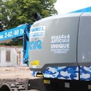 La plataforma Genie® Z-62/40 TRAX™ ayuda a cubrir necesidades muy específicas